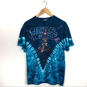 Single Stitch Star Wars 90s Vintage T-Shirt M
